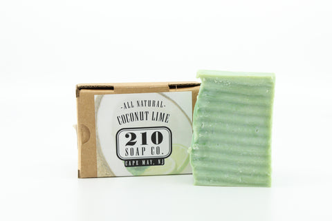210 Soap Co. Coconut Lime Soap 4.5oz