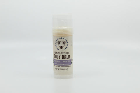 Rosemary Lavender Honey and Beeswax Body Balm 2oz