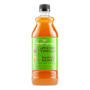 Wedderspoon Organics Apple Cider Vinegar with Manuka Honey