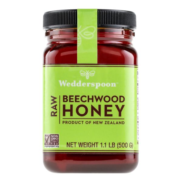 Wedderspoon Organics New Zealand Beechwood Honey 17.6oz