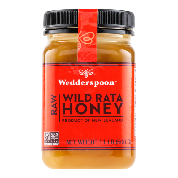 Wedderspoon Organics New Zealand Wild Rata Honey 17.6oz
