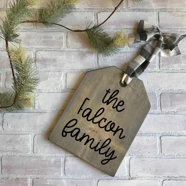 Black white Christmas sign decor