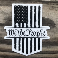 Constitution American vinyl sticker