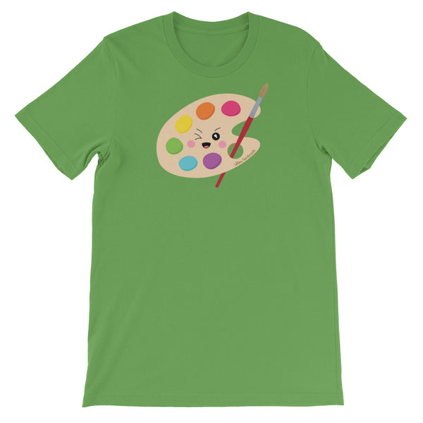 Kawaii Paint Palette Short-Sleeve Unisex T-Shirt