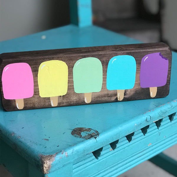 summer popsicle desk or shelf classroom decor