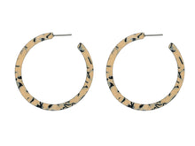 Load image into Gallery viewer, These larger style hoops are available in three colour mixes. This is the cream mix