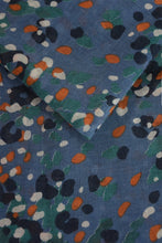 Load image into Gallery viewer, Blue Leopard Pattern Scarf