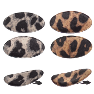 Animal Print Hair Slide