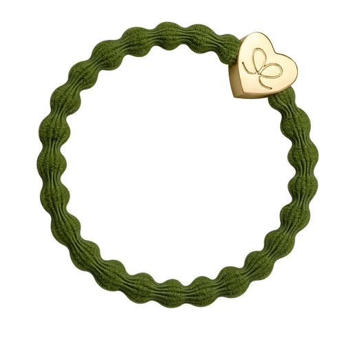 Gold Heart - Olive