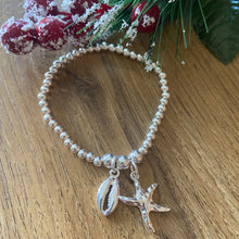 Load image into Gallery viewer, Starfish & Shell Bracelet