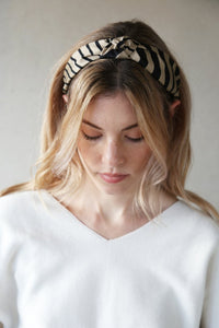 Zebra Hairband