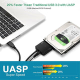 "USB 3.0 to 2.5"" or 3.5"" SATA HDD Adapter (iMac Data Recovery)"