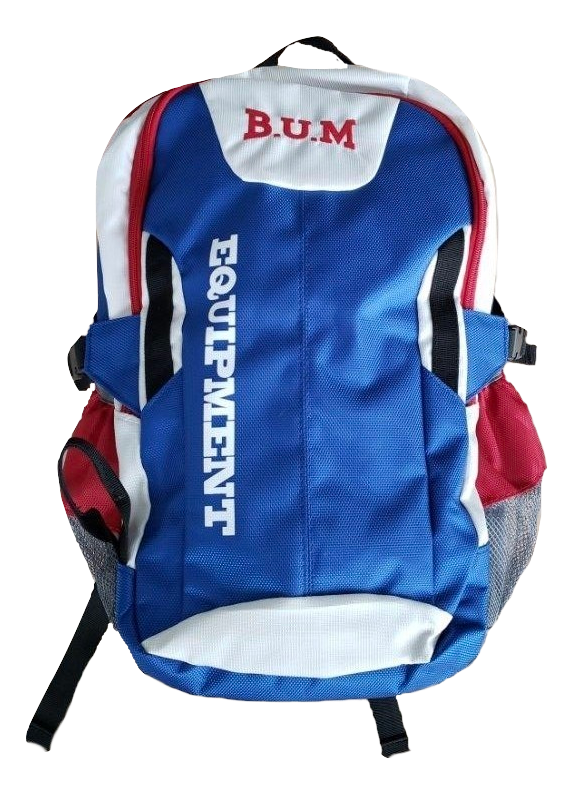 Authentic B.U.M. Blue Backpack- LIMITED EDITION