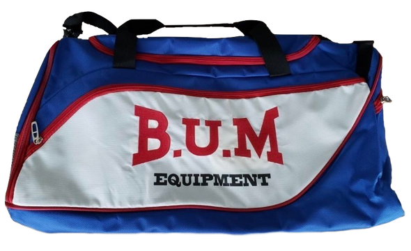 Authentic B.U.M. Blue Gym Bag- LIMITED EDITION