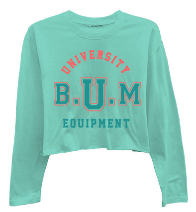 Mint University High-Low Long Sleeve