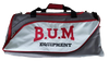 Authentic B.U.M. Grey Gym Bag- LIMITED EDITION