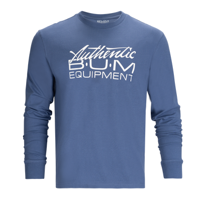 B.U.M. Authentic Long Sleeve- Infinity Blue