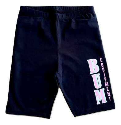Black B.U.M. Womens Shorts