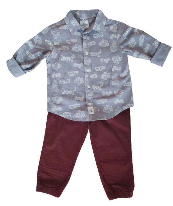 Vehicle Toddler Two-Piece Set
