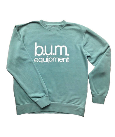 Oversized Crew Neck - Mint