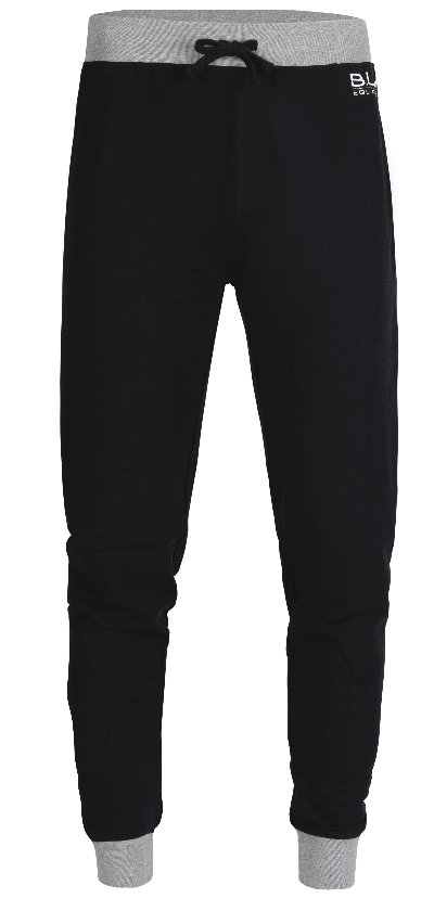 B.U.M. French Terry Jogger- Black