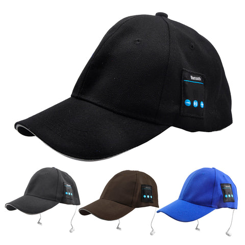 Baseball Cap with Mic Earphone for Mobile Bluetooth