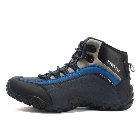 Hiking Shoes Waterproof High Cut Anti-skid Hunting Boots