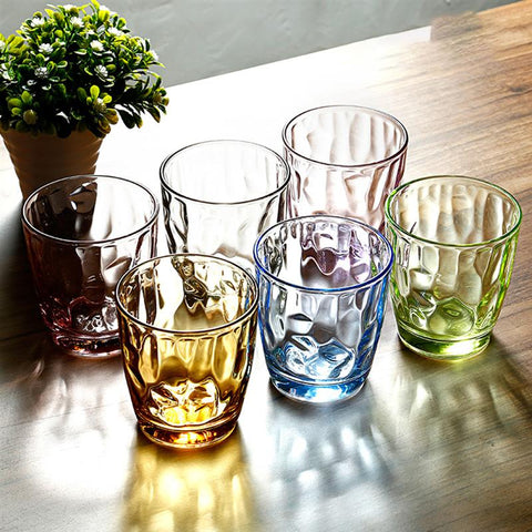 Wine Glasses Colored Break Resistant Tumblers