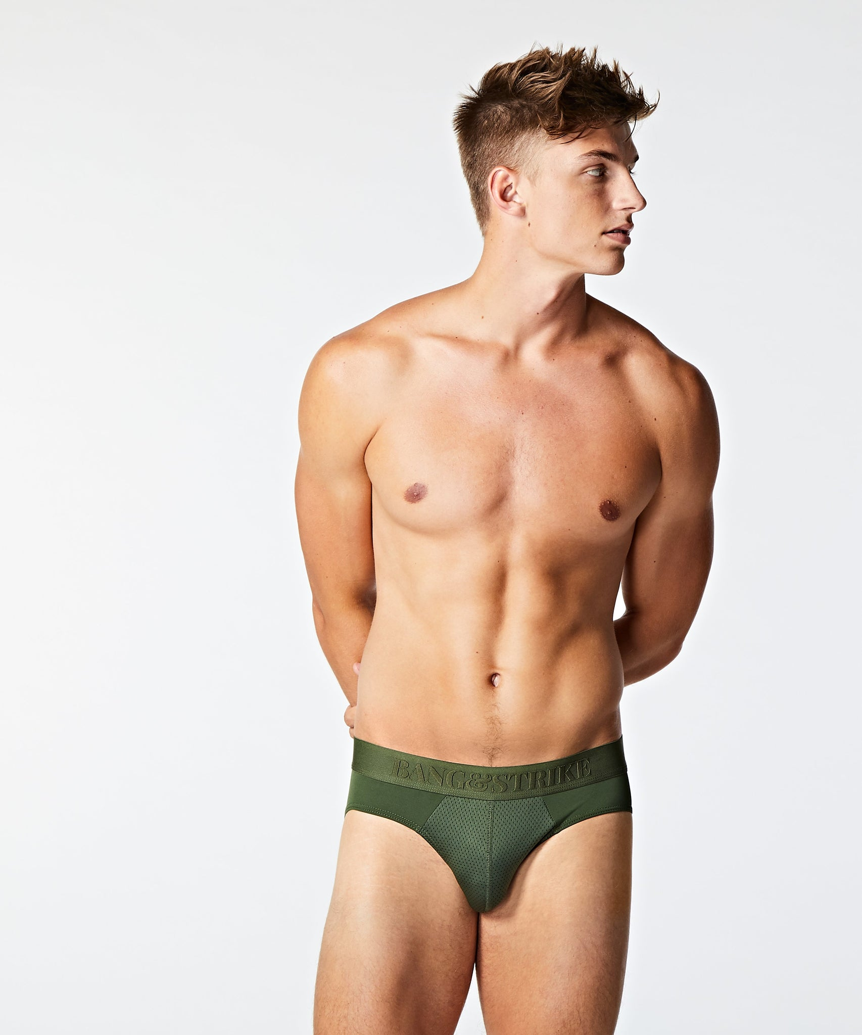 STRIKE PRO Emboss Sport Brief Forest