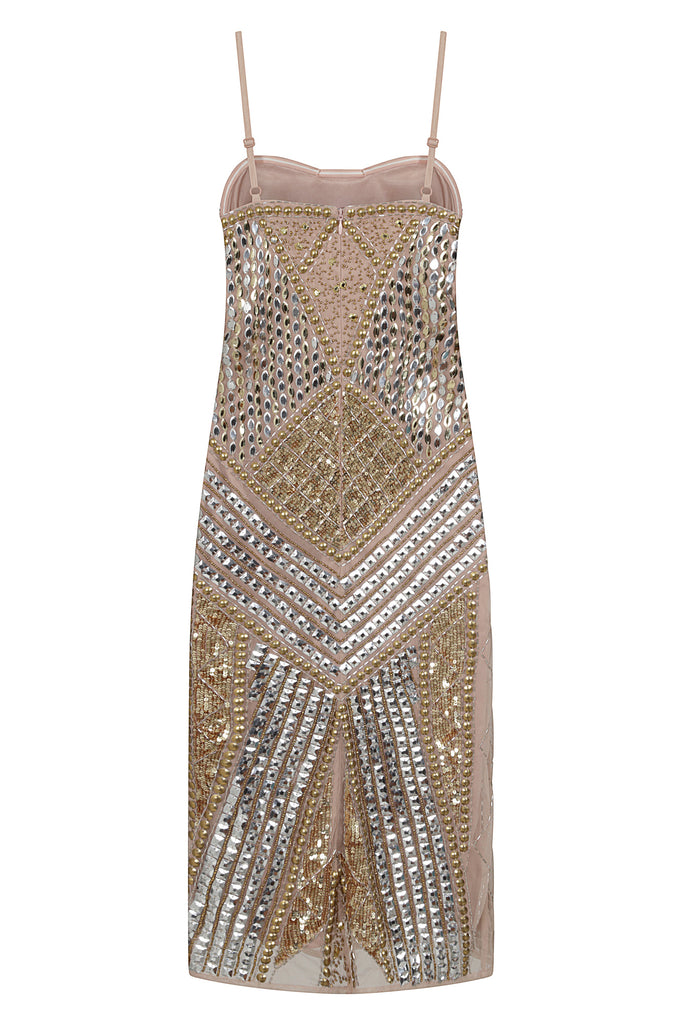 STARLET Embellished Bodycon Dress