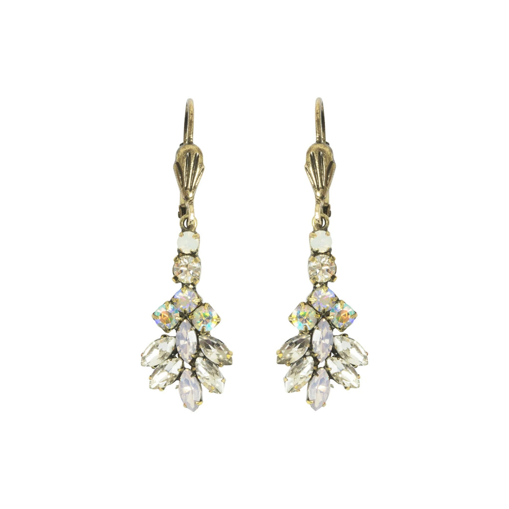 Leaf Stone Earrings - Lovett and Co.