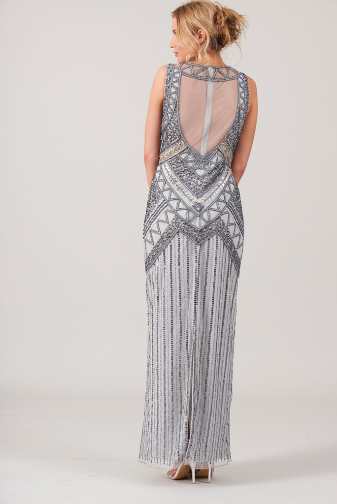 Bonnie Sequin Maxi Dress