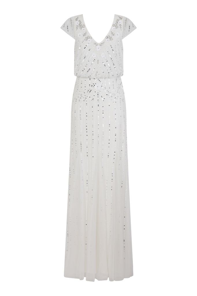 Giovanna 2 In 1 Embellished Maxi Dress