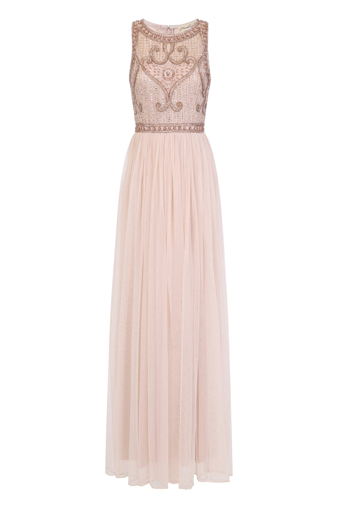 Tina Embellished Maxi Dress