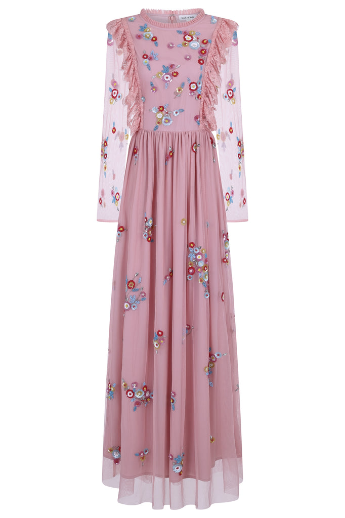 Ginette Embellished Maxi Dress