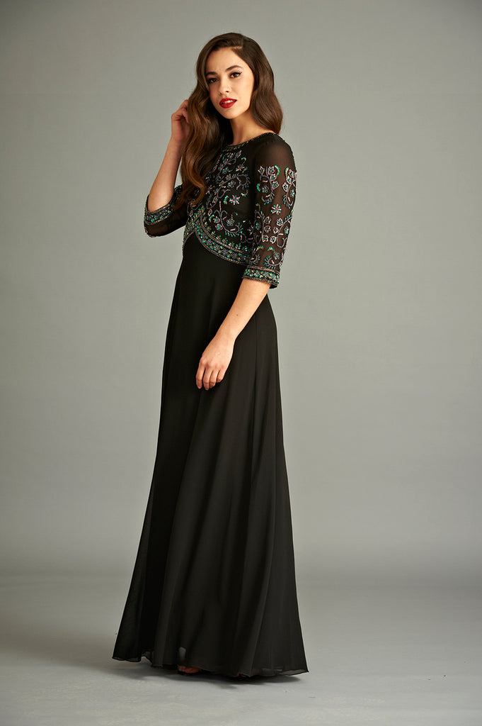 Bhavya Sequin Maxi Dress
