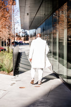 Load image into Gallery viewer, WINTER WHITE CASHMERE OVERCOAT