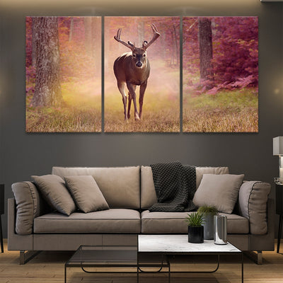 Autumn Deer best canvas prints