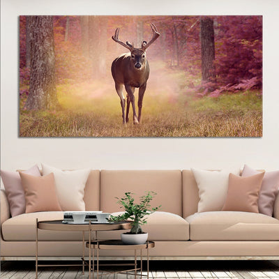 Autumn Deer canvas wall art