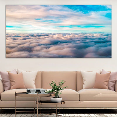 Above The Clouds Large Wall Art Canvas