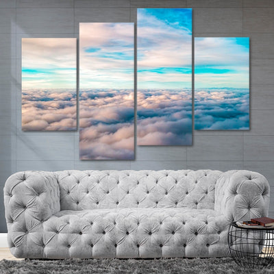 Above The Clouds Wall Art Set of 4