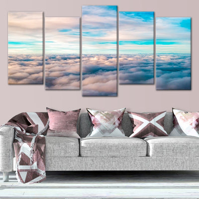 Above The Clouds 5 piece canvas art