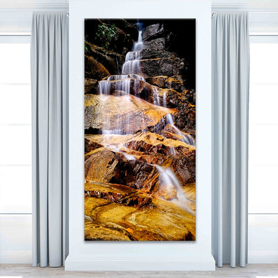 Beautiful Waterfall Multi Panel Canvas Wall Art