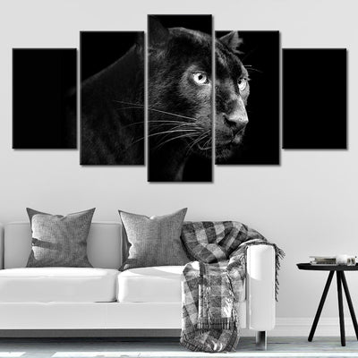 Black Panther Canvas Wall Art