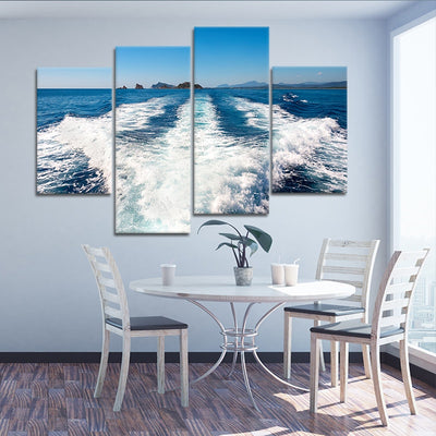 Boat Wake large wall art