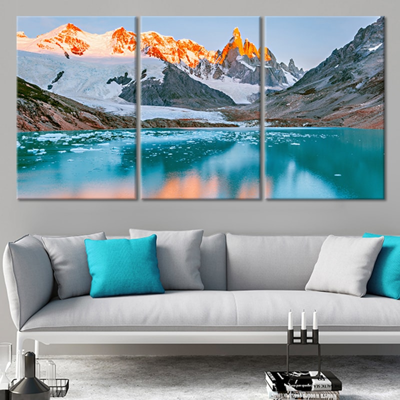Cerro Torre Patagonia Canvas Wall Art