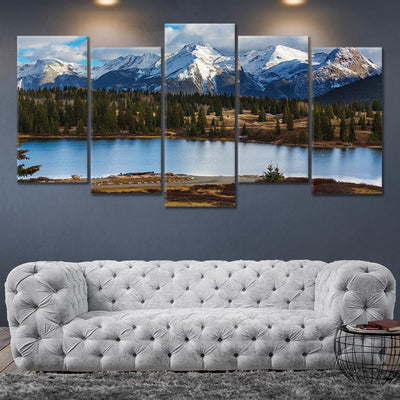 Colorado Rocky Mountains Canvas Wall Art