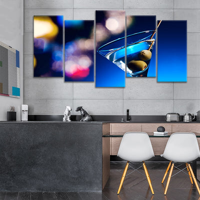 Dirty Martini Canvas Set Wall Art