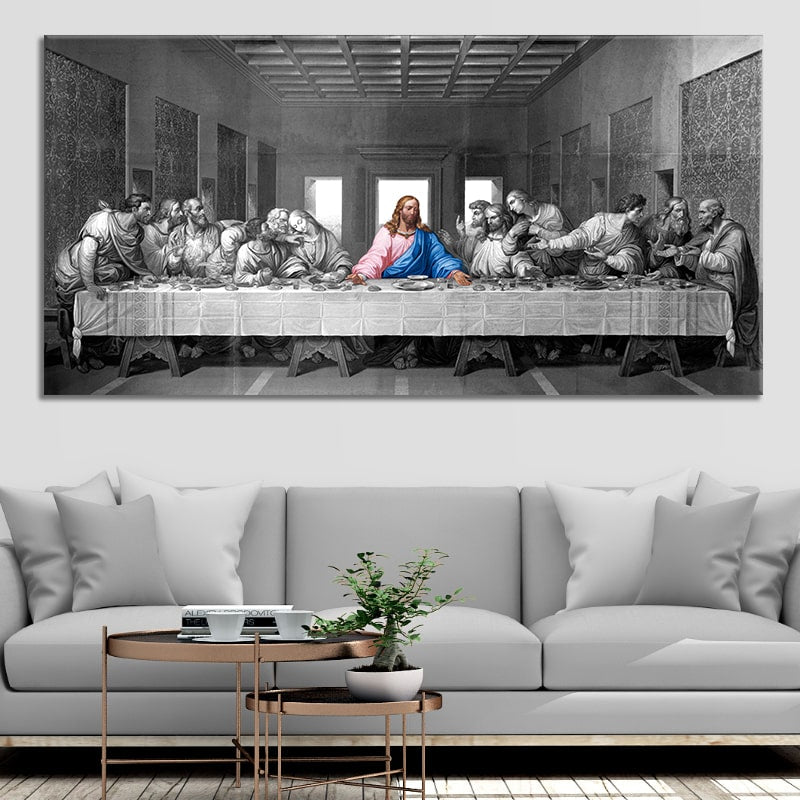 Last Supper Pop Multi Panel Canvas Wall Art
