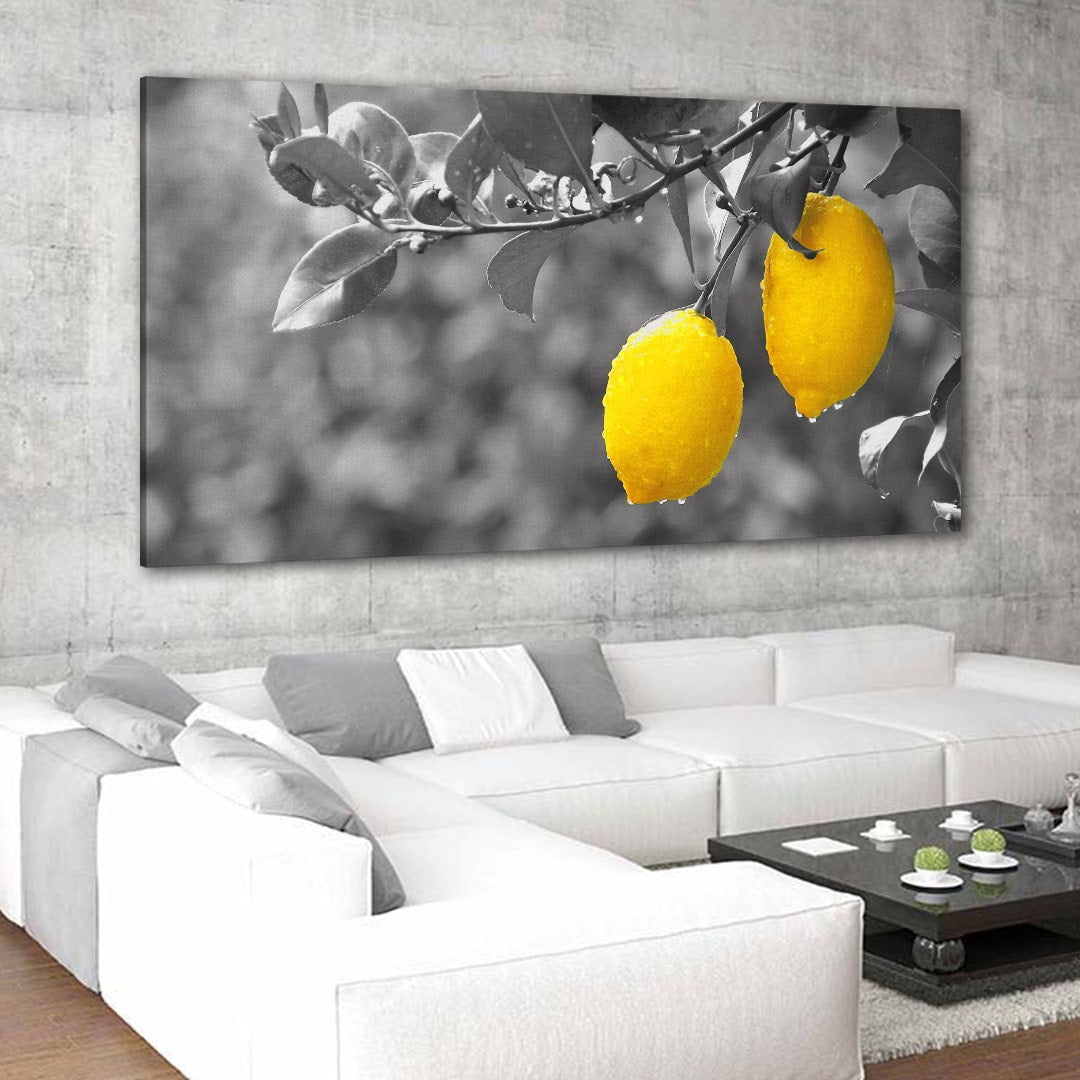 Lemon Tree Multi Panel Canvas Wall Art